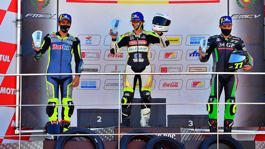 Pakita Ruiz se sube tres veces al podio en el Campeonato Interautonómico
