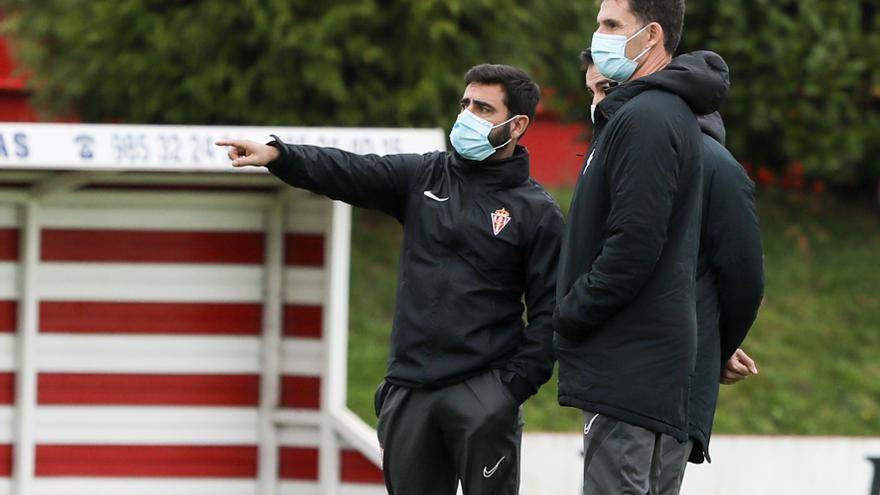 """Gallego: """"La baja de Djuka trastoca los planes, pero haremos un once competitivo"""""""
