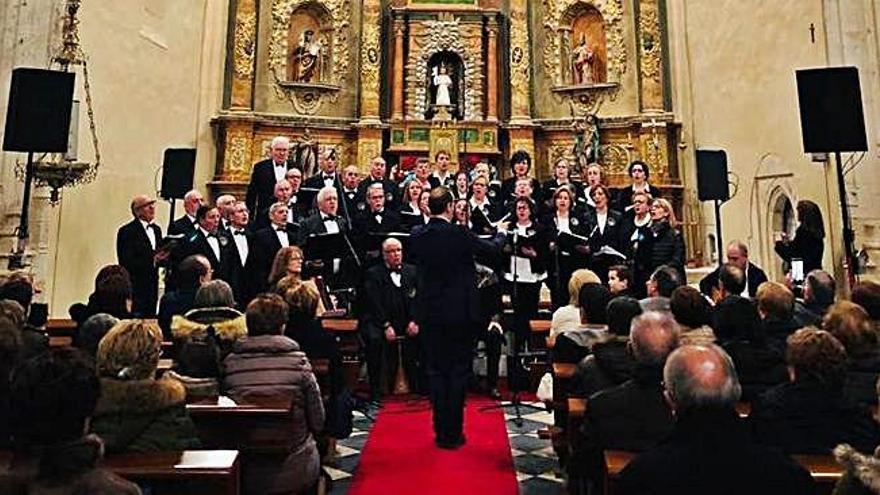 Villamor acoge el concierto de Navidad de Torguvi