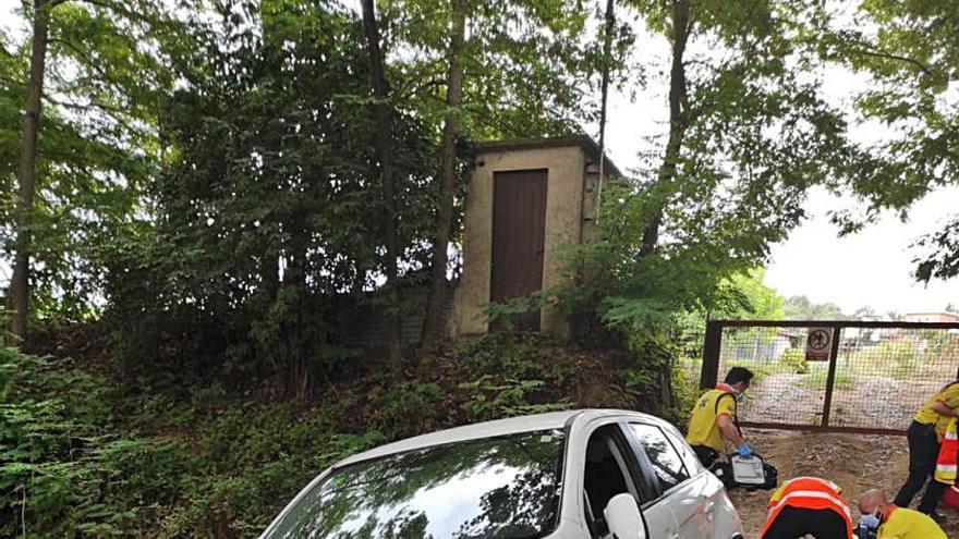 Un veí de Llagostera mor atropellat accidentalment pel seu propi cotxe