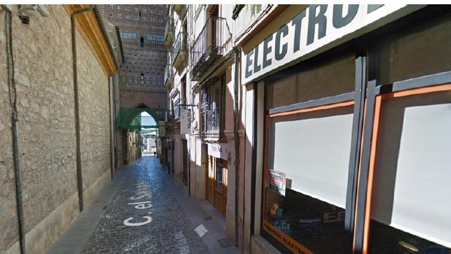 La calle El Salvador de Teruel se corta al tráfico por obras este miércoles y jueves