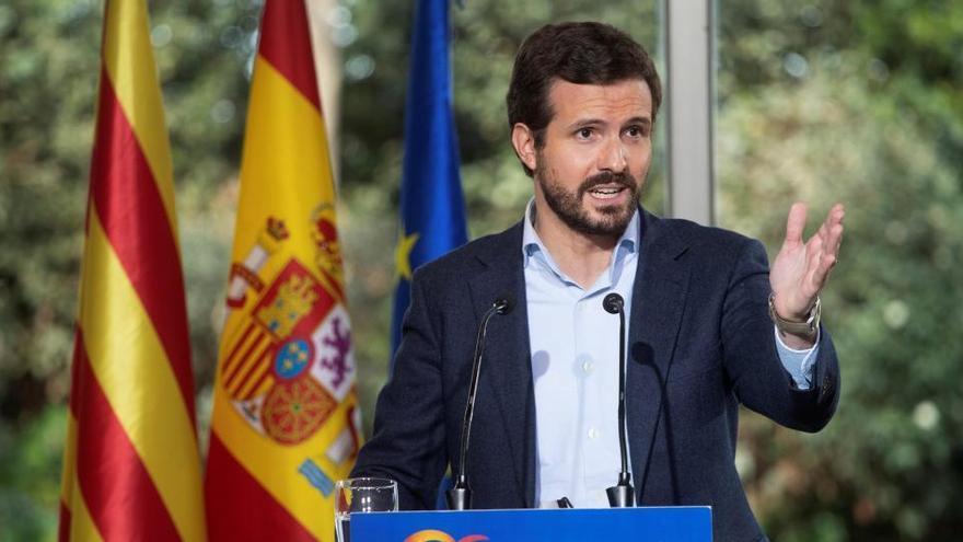 """Casado anuncia que recurrirá ante el TC la ley que """"facilita la okupación en España"""""""