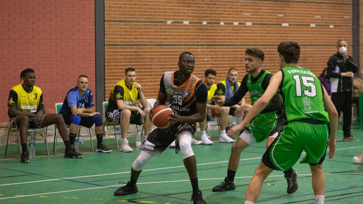 Kasse, durante el partido