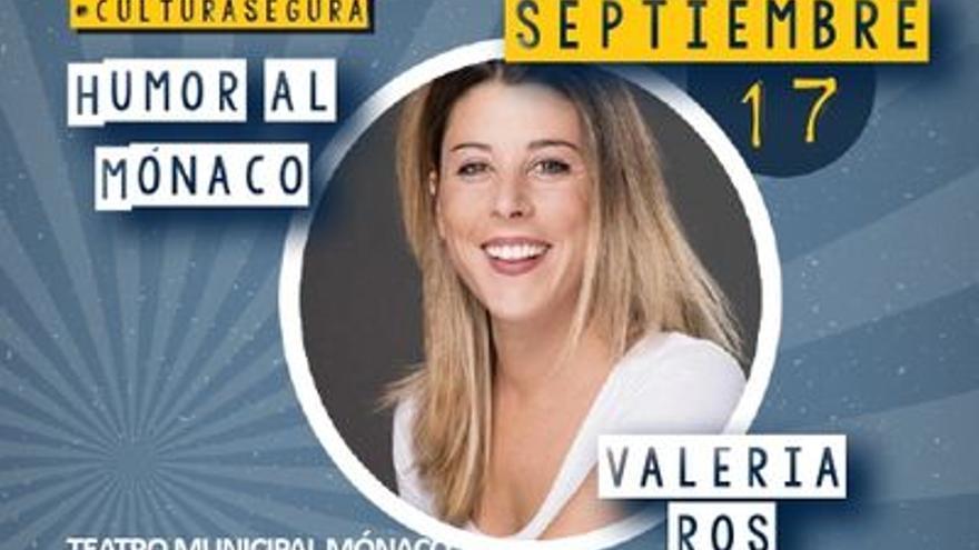 Humor al Mónaco: Valeria Ros
