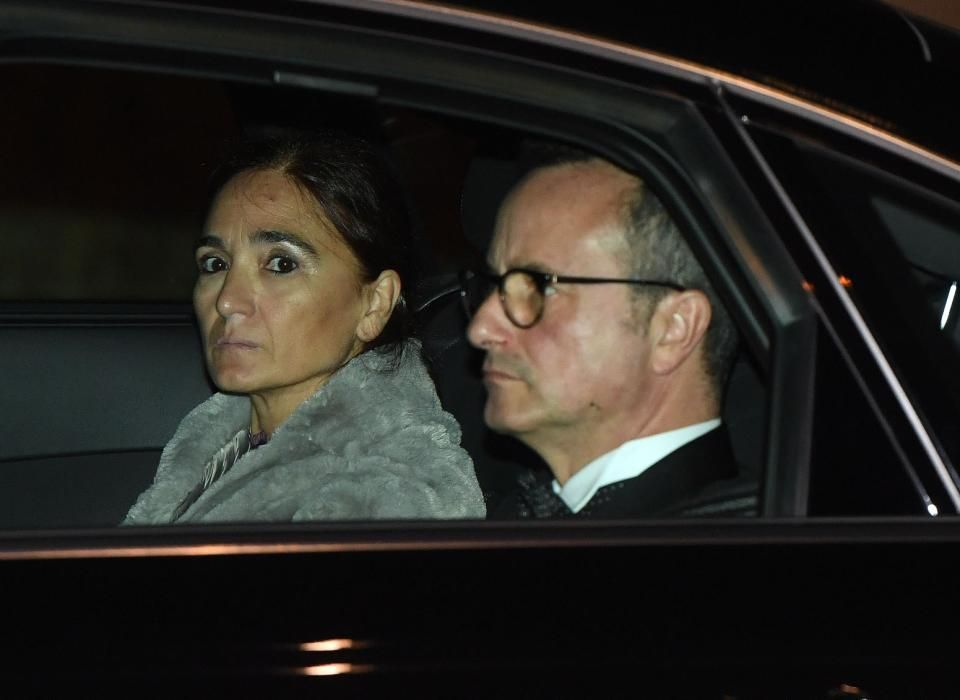 Segundo día de fiesta en la boda de Marta Ortega