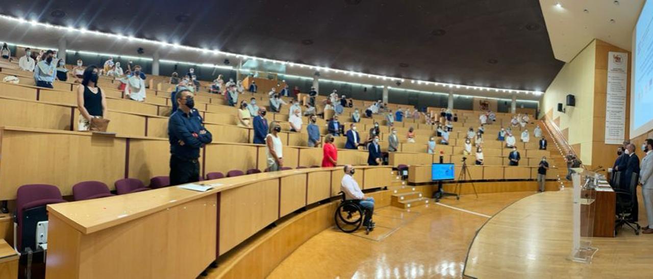 Graduación de personas con discapacidad en la UMH