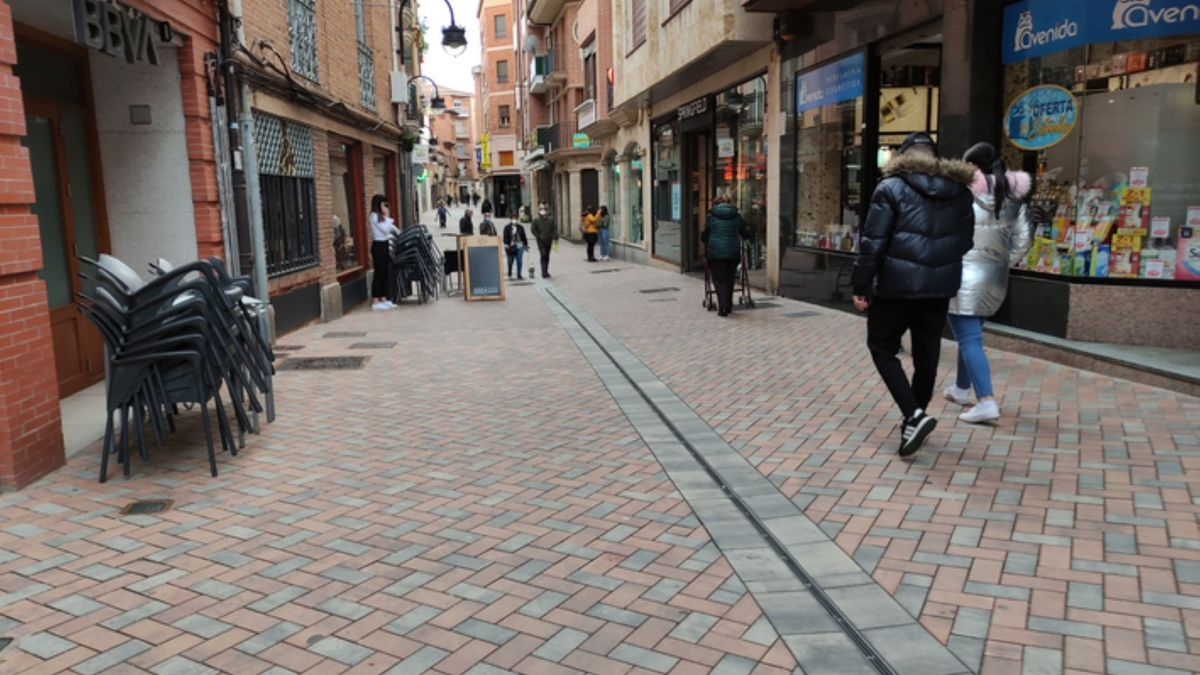 Calle Herreros de Benavente. / E. P.