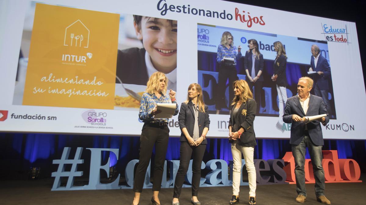 Evento «Gestionando hijos» celebrado el pasado año en el Palacio de Congresos, en València
