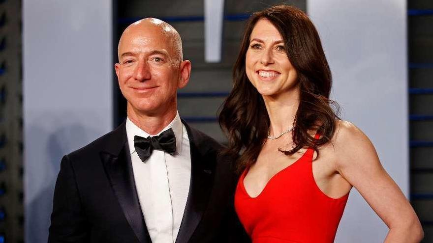 La exesposa de Bezos se casa con el profe de sus hijos