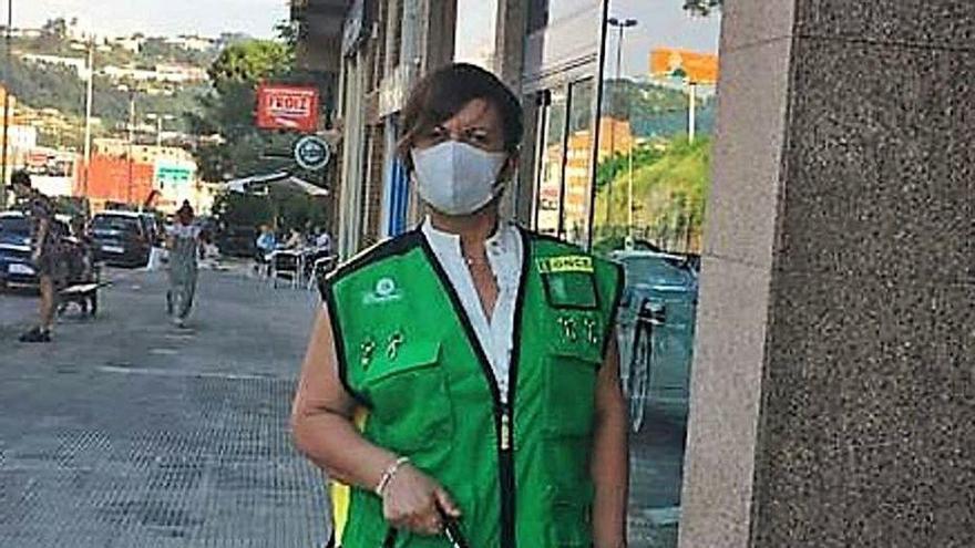 """M. Magdalena, vendedora de la ONCE: """"Parecía estar en la película 'Soy leyenda'"""""""