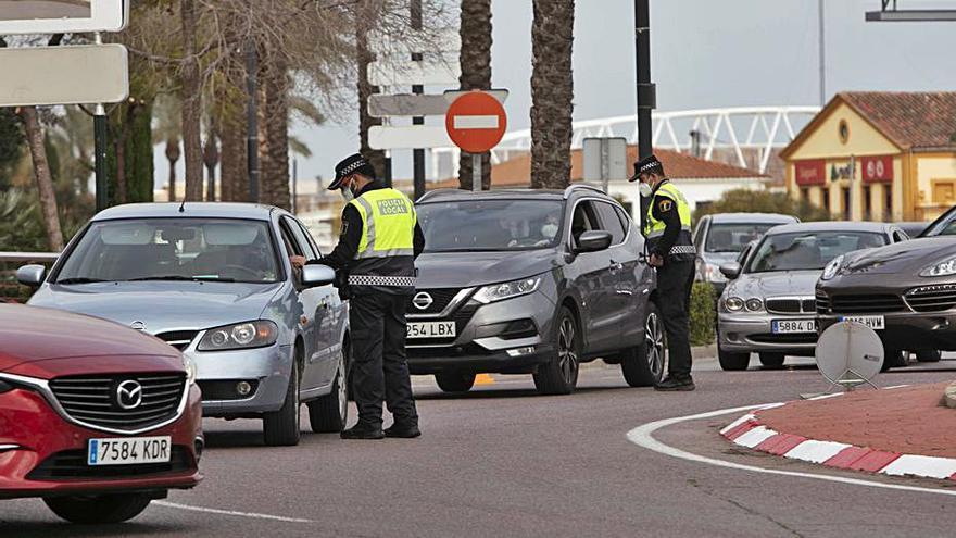 Más de 150 multas en el último cierre de fin de semana