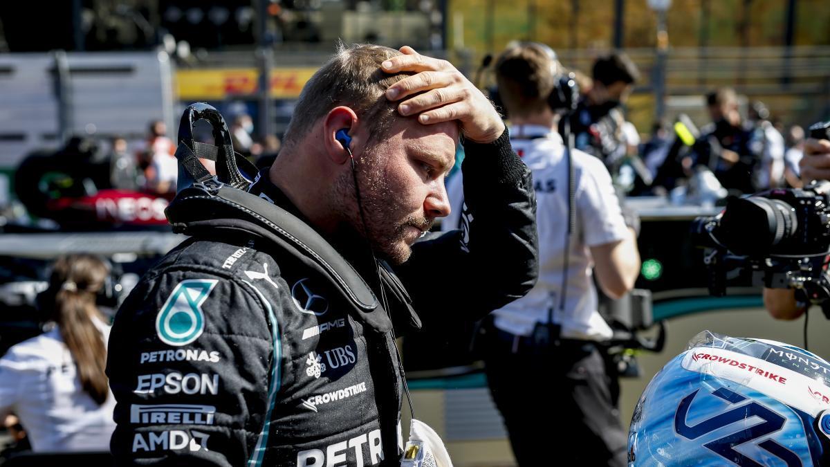 El piloto finlandés Valtteri Bottas.