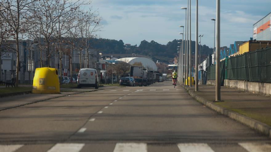 Despliegue policial por un escape de gas en el PEPA