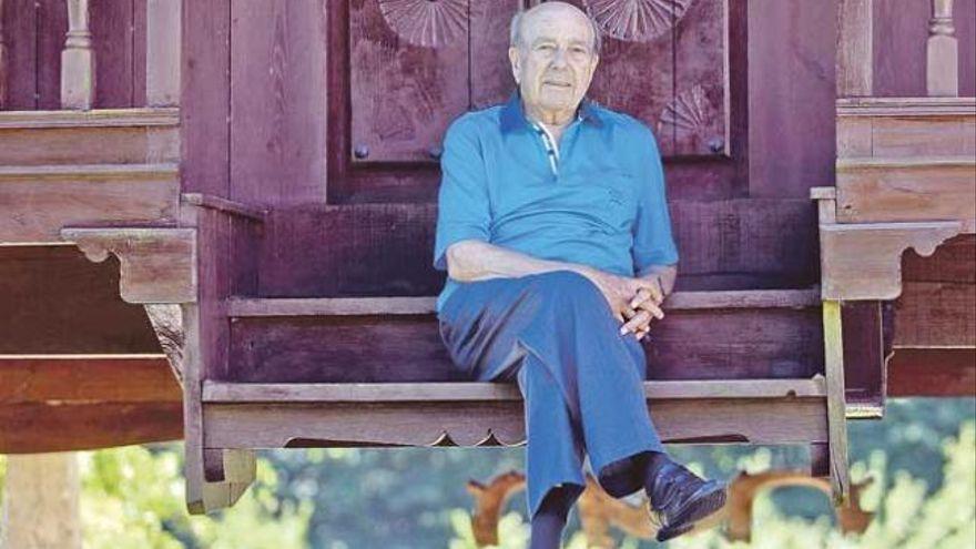 Fallece el librero asturiano Manuel Lombardero, a los 96 años