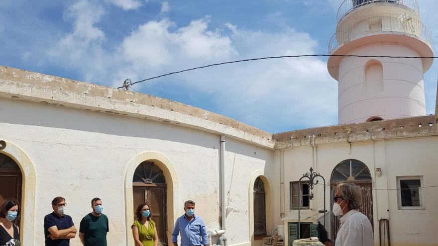 Xàbia pide apoyo al Consell para el proyecto de uso público del faro del cabo de Sant Antoni