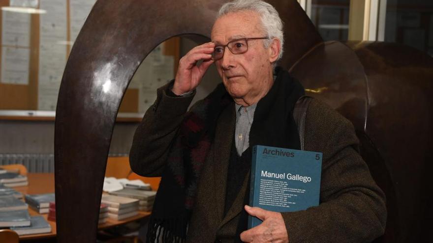 Manuel Gallego Jorreto, en un monográfico de la revista 'Archives'