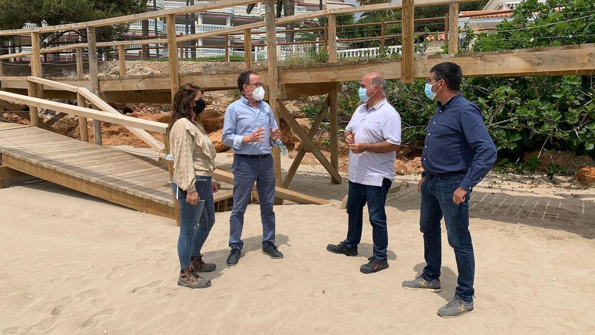 """Costas reparará """"en breve"""" los daños de 'Filomena' en Alcalà"""
