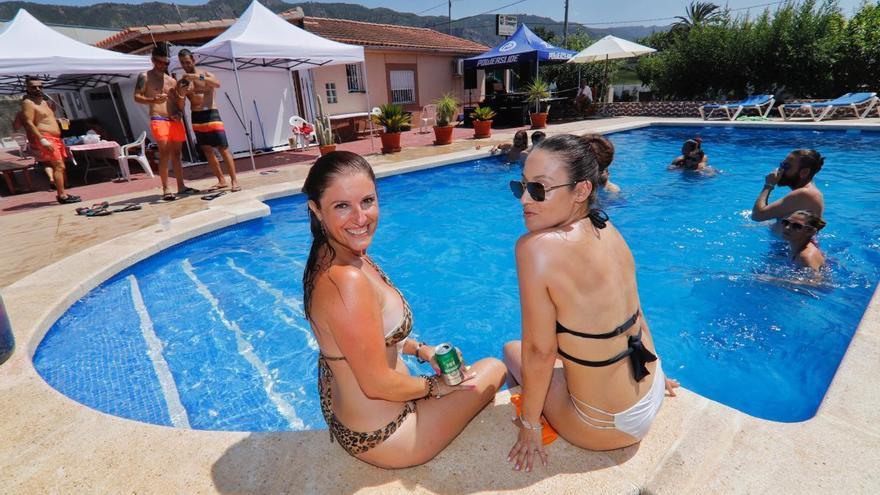 Se alquila piscina particular