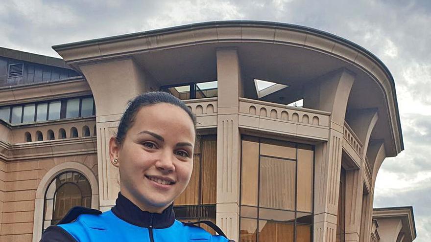 Débora Torreira, una balonmanista internacional para reforzar a la Policía Local de Oviedo