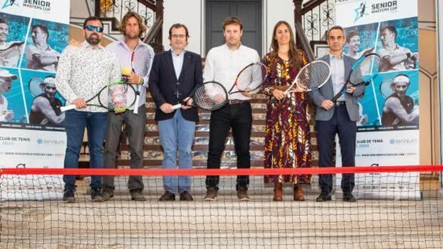 València acoge el mejor torneo senior  de tenis el primer fin de semana de abril
