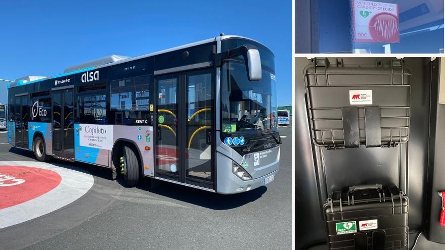 Un autobusero se baja en plena ruta para salvar a un conductor que sufría un infarto en Galicia