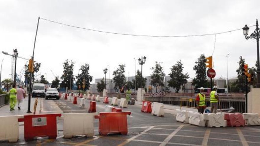 El Puente del Carmen vuelve a su sentido de tráfico original