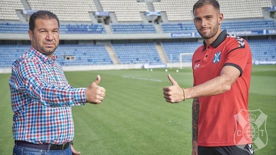 Elliot Gómez, primer positivo por Covid-19 en el CD Tenerife