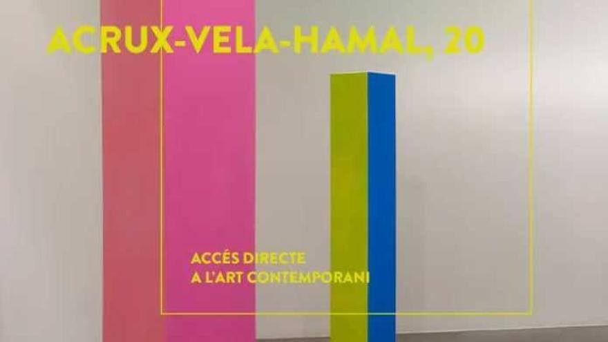 "Accés directe a ""Acrux-Vela-Hamal, 20"" de Rosa Brun"