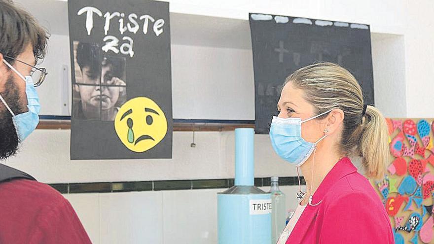 Una muestra plasma las emociones vividas durante el confinamiento