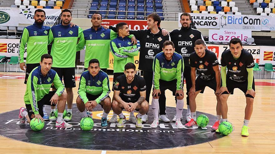 El Palma Futsal afronta una prueba de fuego ante el Santa Coloma