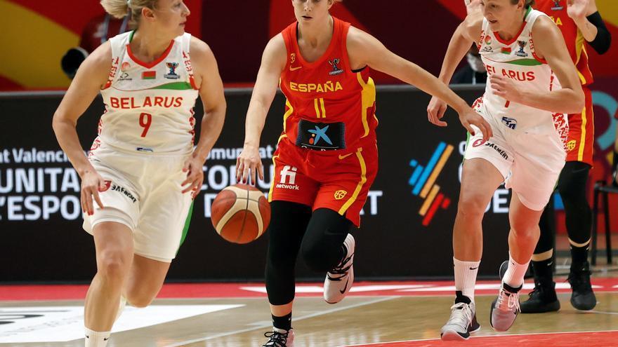 España tropieza con Bielorrusia en su estreno en el Eurobasket