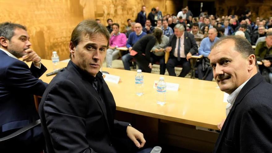 Lopetegui no descarta en Murcia que Casillas y Juanfran vuelvan a la Roja