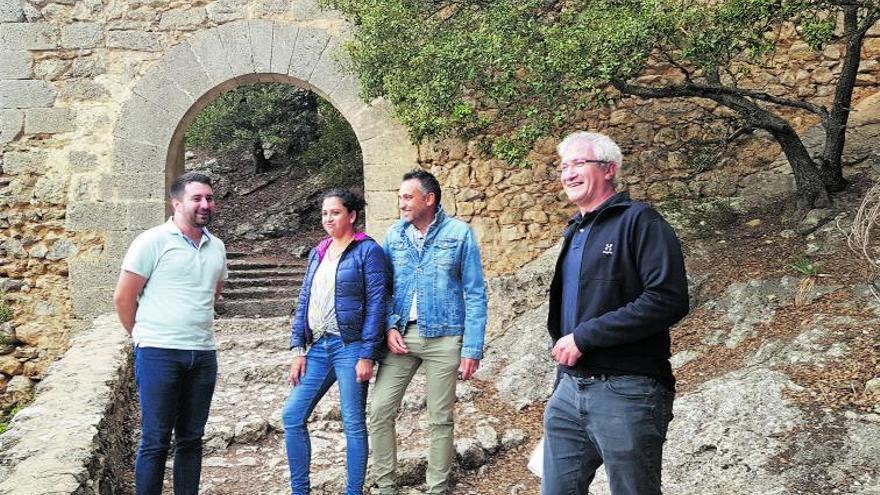 El Consell y Alaró colaborarán en la conservación del Castell