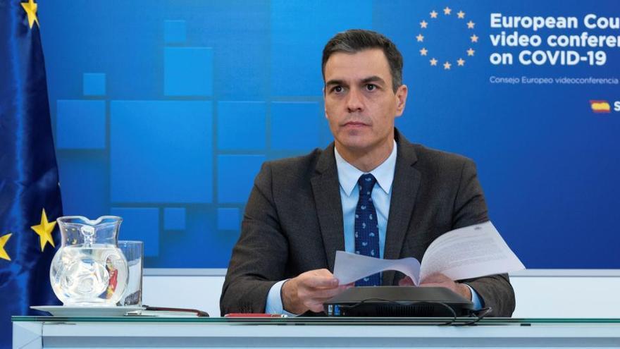 Sánchez pide en la UE generalizar los test de antígenos