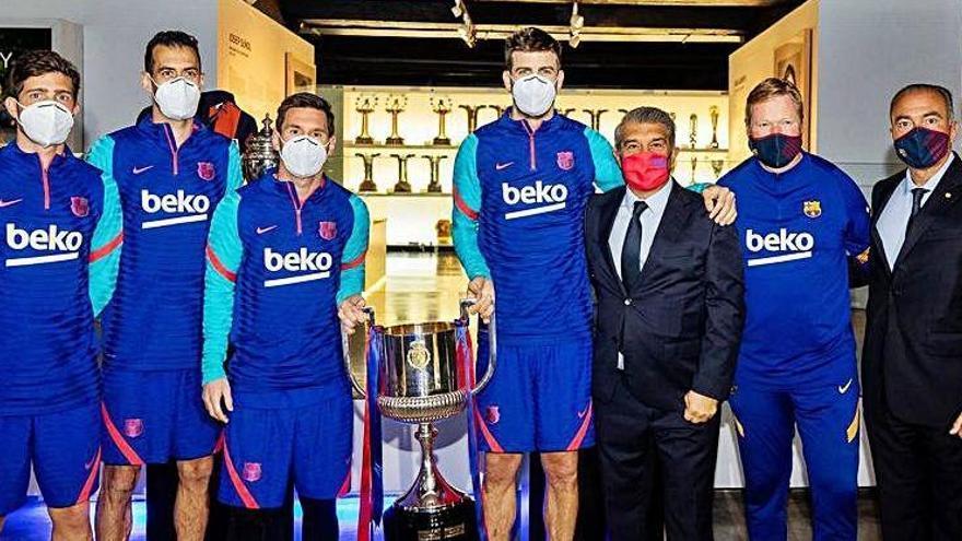 El Barça rep avui el Getafe mentre s'aferra a una Superlliga que fa figa