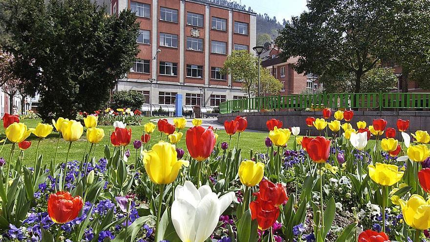 Mieres privatiza el mantenimiento de los parques al contar solo con tres jardineros