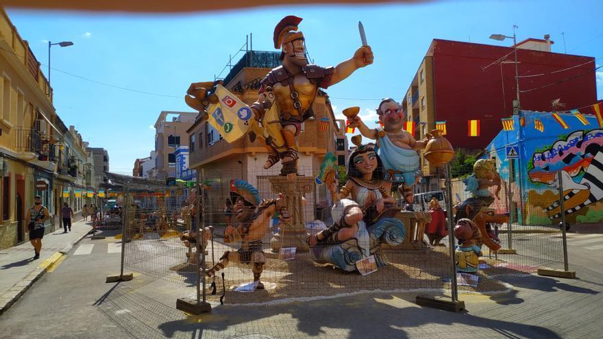 Crítica local en las fallas de Paterna