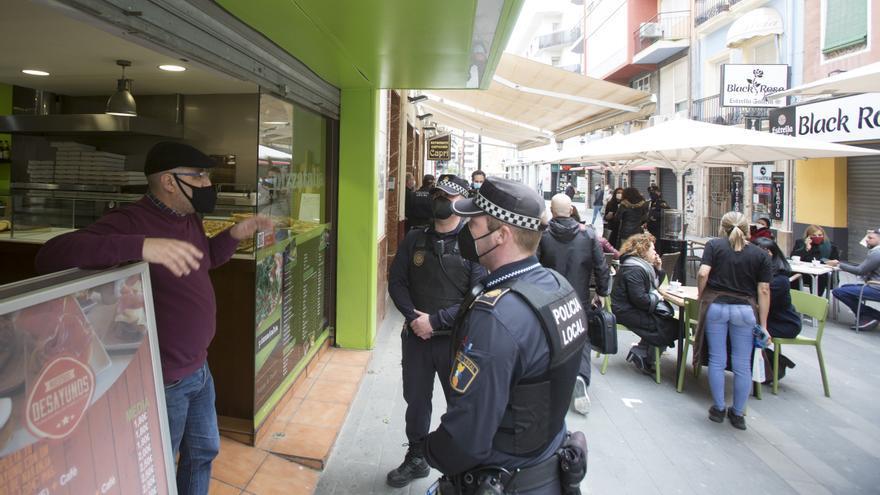 311 denuncias por incumplir el estado de alarma y 22 fiestas y 6 botellones disueltos en Alicante