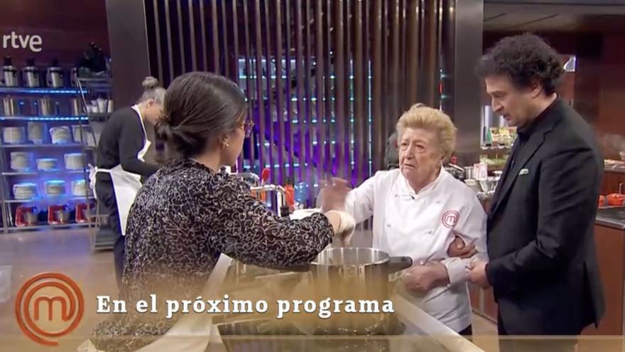"""Aurelia vuelve a MasterChef: """"Chorizo, vino y duermes como una reina"""""""