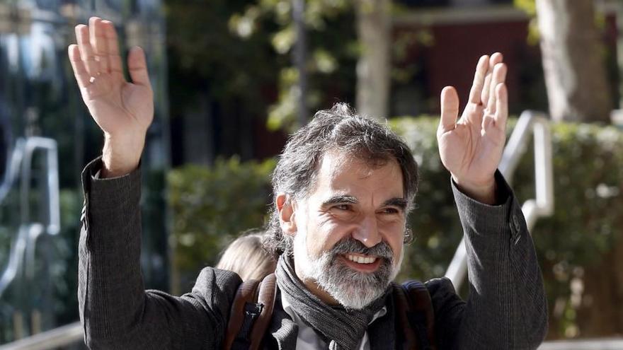 """La jueza autoriza para Jordi Cuixart dos permisos de seis días """"de forma inmediata"""""""