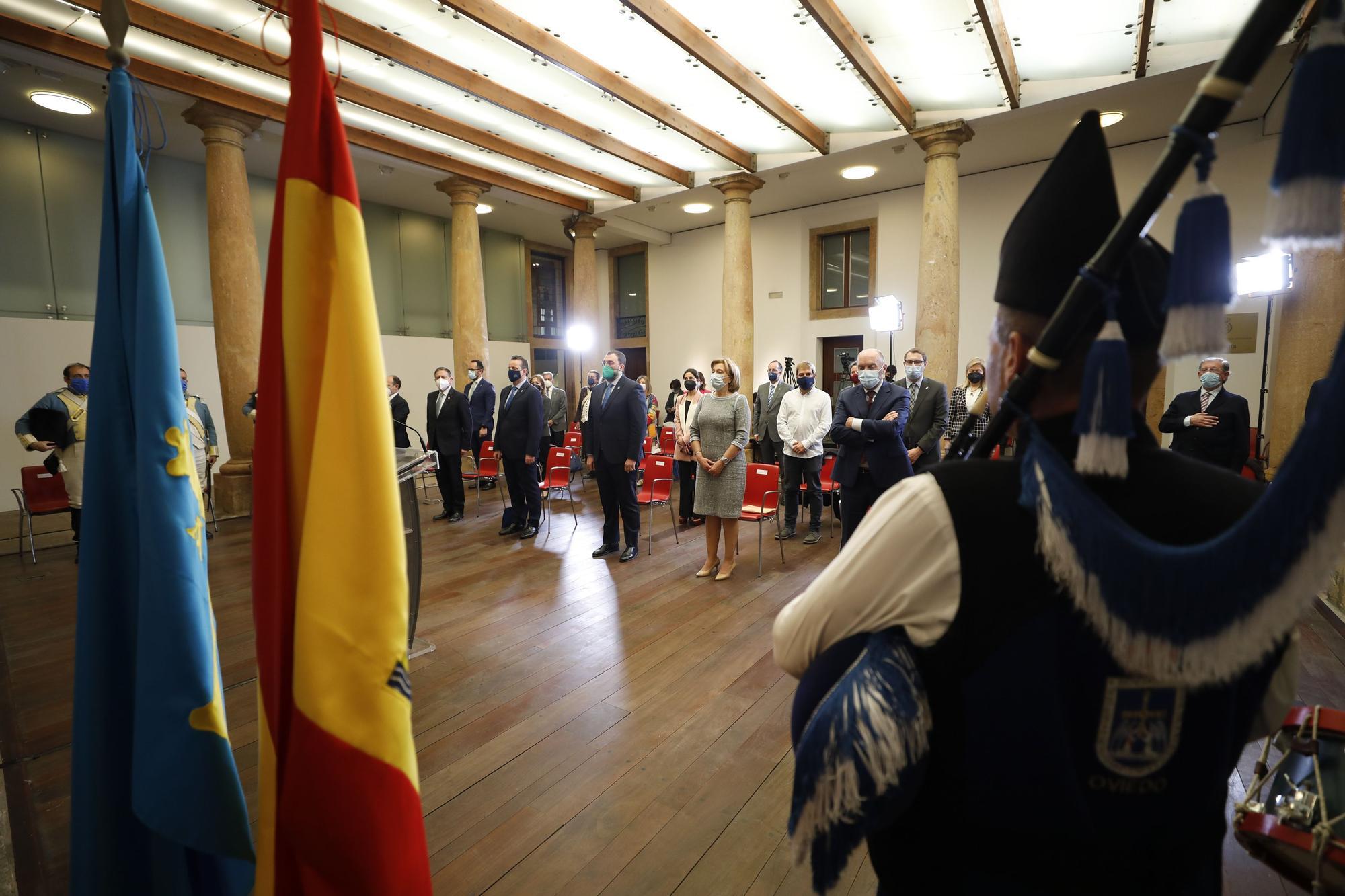Primera conmemoración del 25 de mayo en Asturias