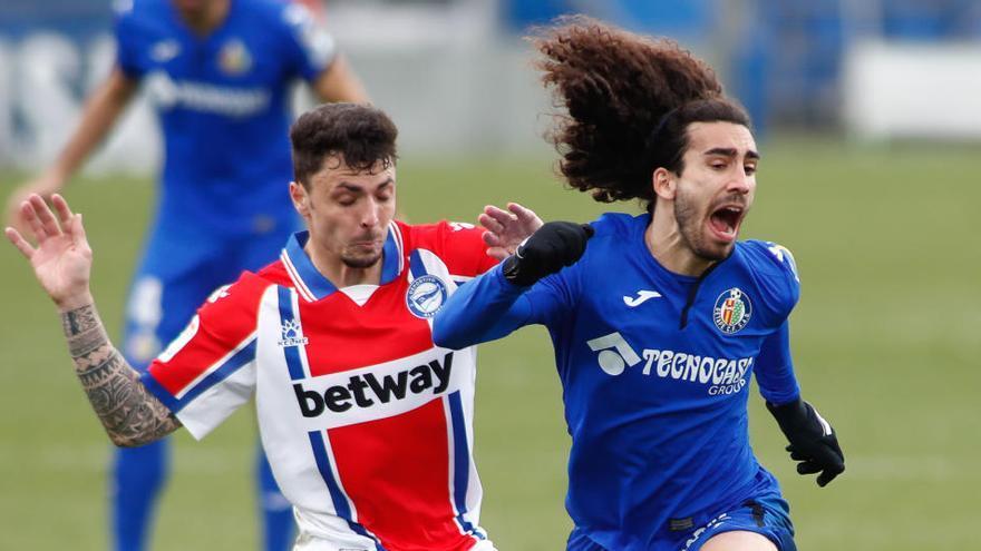 Getafe y Alavés, sin premio en un partido trabado