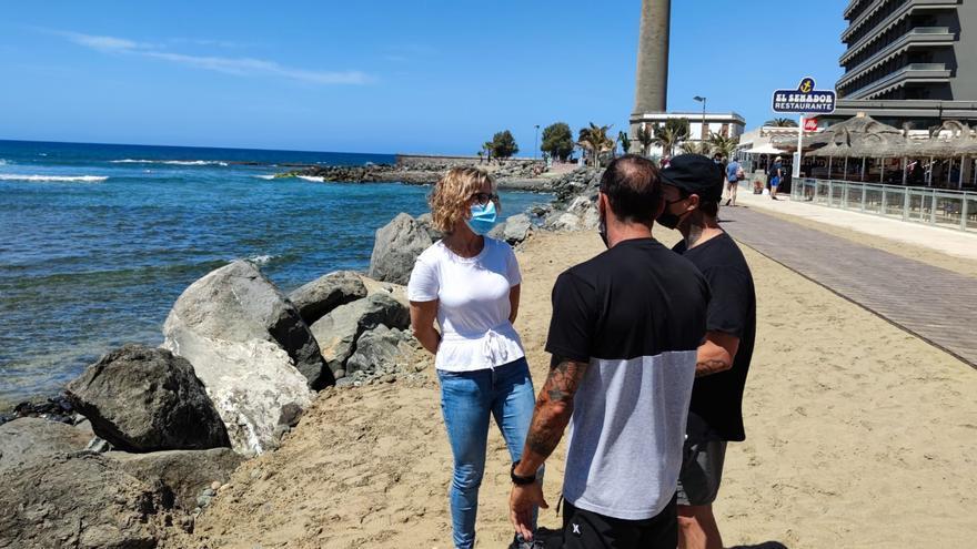 El Gobierno regional investiga el movimiento de rocas en el Faro