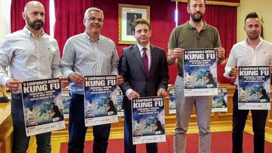 El Campeonato Ibérico de Kung Fu reúne en Tui a 300 deportistas de la Eurorregión