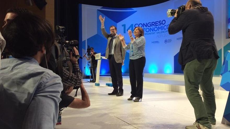 """Bonig recuerda a Rajoy los 900.000 votos que aporta y le pide """"justicia"""" para los valencianos"""