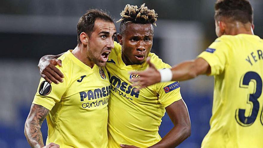 Alcácer reactiva de nuevo al Villarreal con un gol