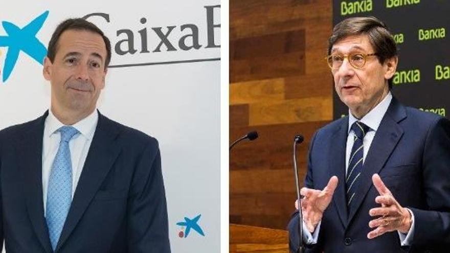 CaixaBank y Bankia podrían convocar el próximo lunes las Juntas para su fusión