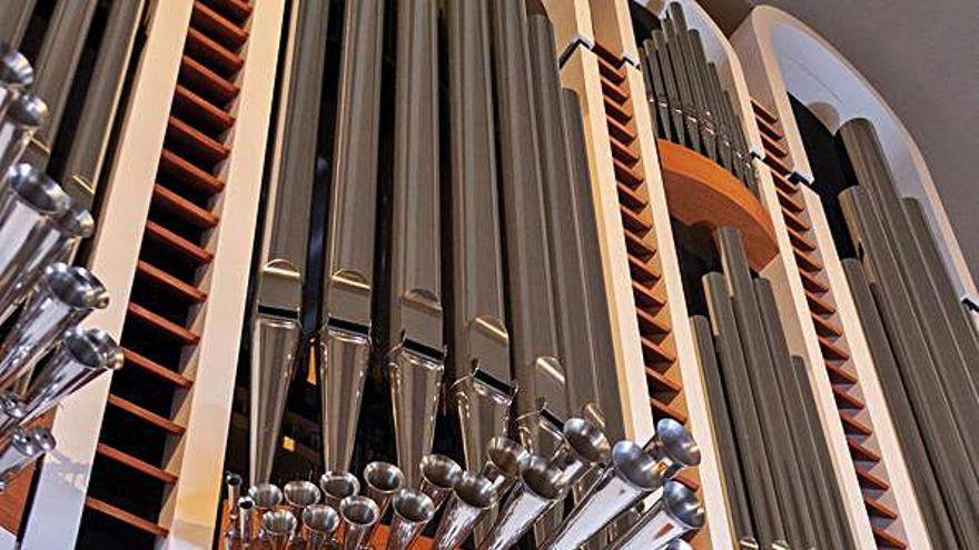 «Segur que l'orgue sonarà millor que el primer dia»