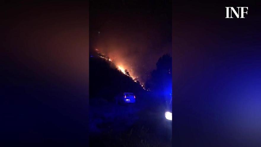 Incendio en Pinoso