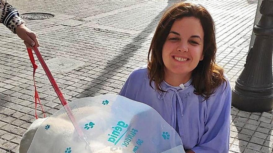 Los dueños del perro que atacó a Sandra Gómez niegan la lesión